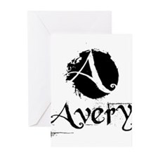Avery Grunge Greeting Cards (Pk of 20)