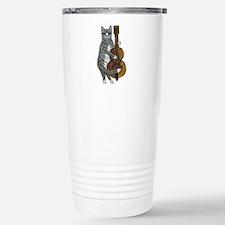 Cat and Cello Travel Mug