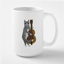 Cat and Cello Mug