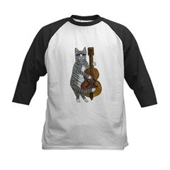 Cat and Cello Tee