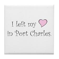 Port Charles Tile Coaster