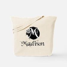 Madison Grunge Tote Bag