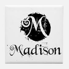 Madison Grunge Tile Coaster