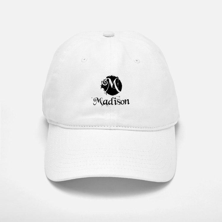 Madison Grunge Baseball Baseball Cap