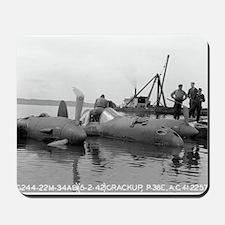 P-38 Crash Mousepad