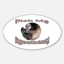 Pick Me Oval Decal