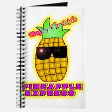 Cute Pineapple Journal