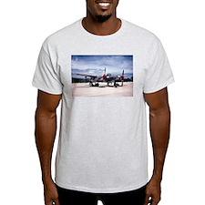 PTO - P-38 Ash Grey T-Shirt