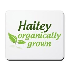 organic hailey Mousepad