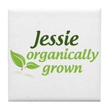 Organic Jessie Tile Coaster