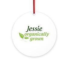 Organic Jessie Ornament (Round)