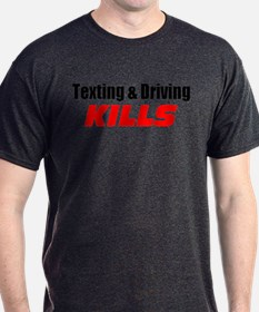 Texting & Driving Kills T-Shirt