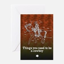 The Cowboy... Greeting Card
