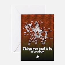 The Cowboy... Greeting Card