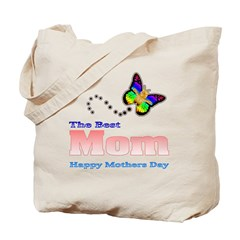 The best Mom Happy Mothers Da Tote Bag