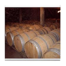 Wine casks,Tile Coaster