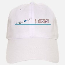 i swim (boy) Baseball Baseball Cap