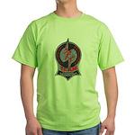 Fitchburg Police SRT Green T-Shirt