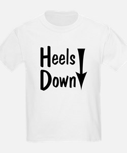 Heels Down! Arrow Kids T-Shirt