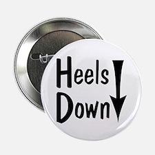 """Heels Down! Arrow 2.25"""" Button (10 pack)"""