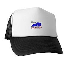 Harlan is Justified Trucker Hat