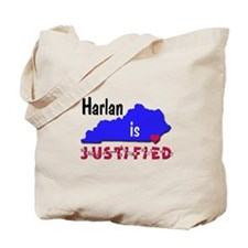 Harlan is Justified Tote Bag