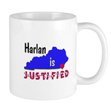 Harlan is Justified Mug