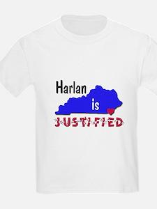 Harlan is Justified T-Shirt