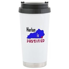 Harlan is Justified Ceramic Travel Mug