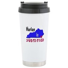 Harlan is Justified Travel Mug
