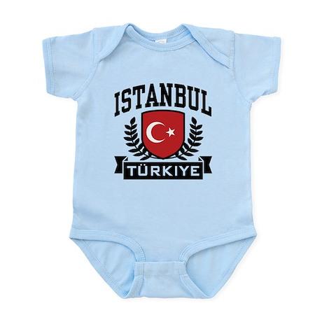 Istanbul Turkiye Infant Bodysuit