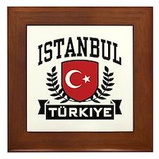 Istanbul Turkiye Framed Tile