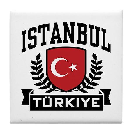 Istanbul Turkiye Tile Coaster