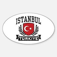 Istanbul Turkiye Sticker (Oval)