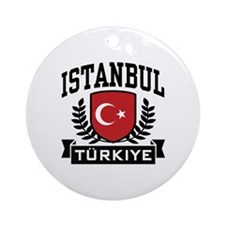 Istanbul Turkiye Ornament (Round)