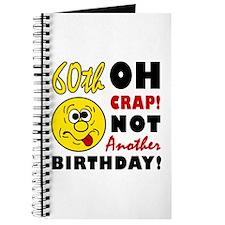 Oh Crap 60th Birthday Journal