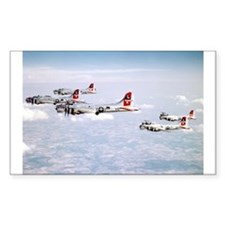B-17 Formation Rectangle Decal