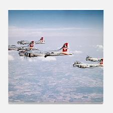 B-17 Formation Tile Coaster