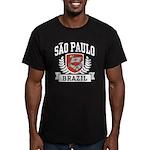 Sao Paulo Brazil Men's Fitted T-Shirt (dark)