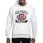 Sao Paulo Brazil Hooded Sweatshirt