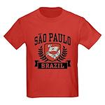 Sao Paulo Brazil Kids Dark T-Shirt
