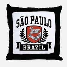 Sao Paulo Brazil Throw Pillow