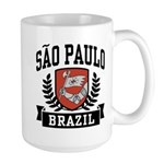 Sao Paulo Brazil Large Mug