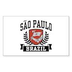 Sao Paulo Brazil Sticker (Rectangle)