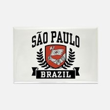 Sao Paulo Brazil Rectangle Magnet
