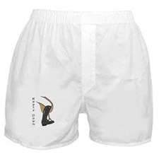Heels Down Vertical Illus. Boxer Shorts