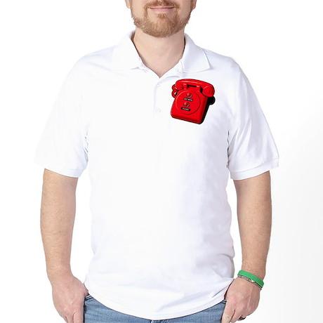 Batman/Pizza - Hotline Golf Shirt