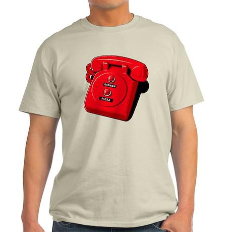 Batman/Pizza - Hotline Light T-Shirt