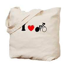 I (heart) Cycling Tote Bag