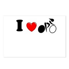 I (heart) Cycling Postcards (Package of 8)